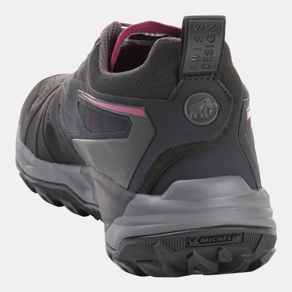 Mammut Womens Saentis Low Shoe Dark Titanium/Phantom