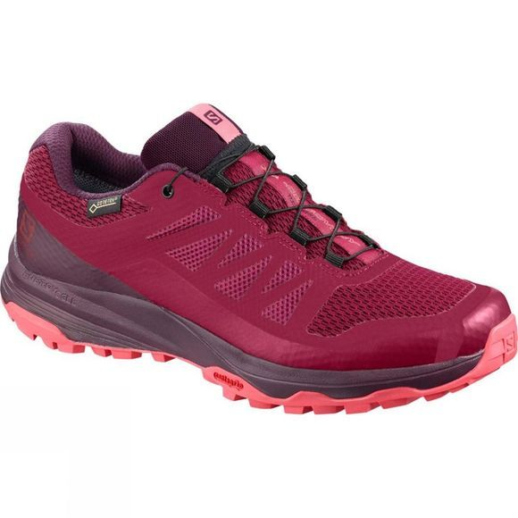 Salomon Womens XA Discovery GTX Beet Red/Potent Purple/Calypso Coral