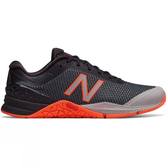 New Balance Womens Minimus 40 Shoe Black/Orange
