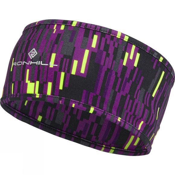 Ronhill Printed Headband Grape Glitch