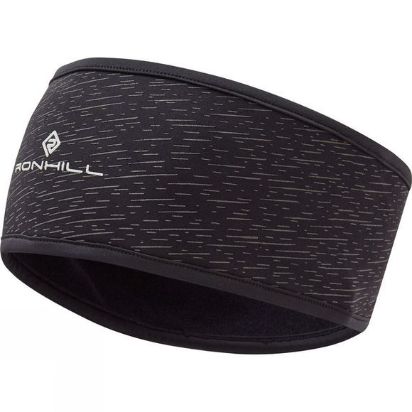 Ronhill Afterlight Headband Black/Reflect