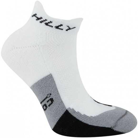 Hilly Cushion Socklet White/Black/Grey