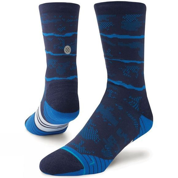Stance Mens Uncommon Solids Crew Socks Royal