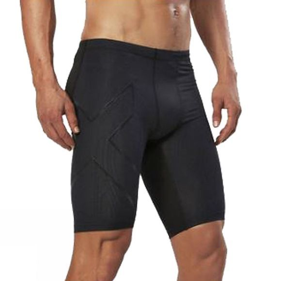 2XU Mens Elite Mcs Compression Short Black/Nero