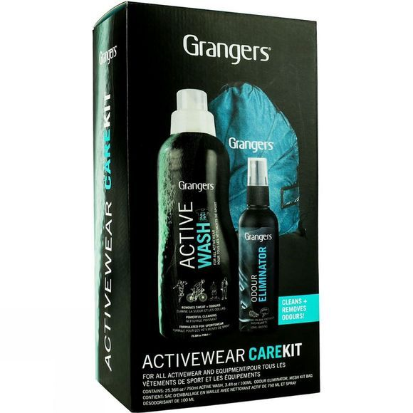 Grangers Activewear Care Kit Black Multi
