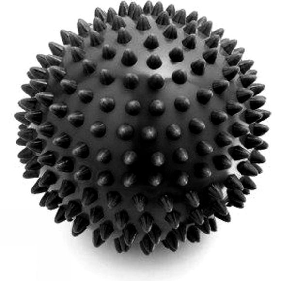 Live on the Edge 10cm Hard Spiky Massage Ball Black