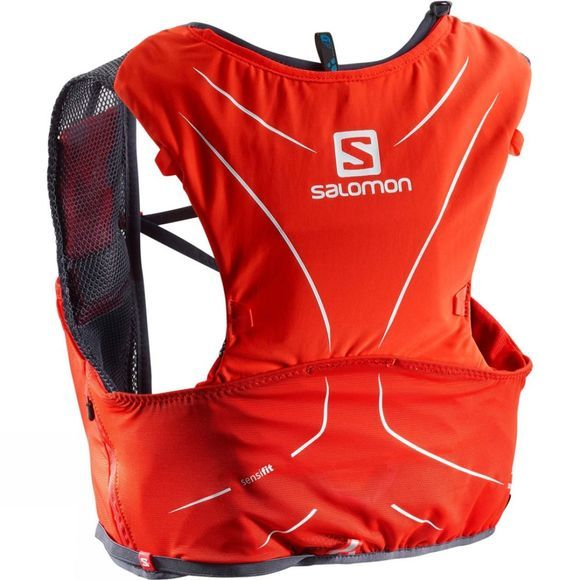Salomon Advanced Skin 5 Set Fiery Red/Graphite