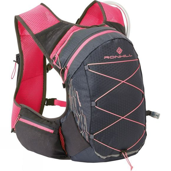 Ronhill Pioneer 8L Vest Charcoal/Hot Pink