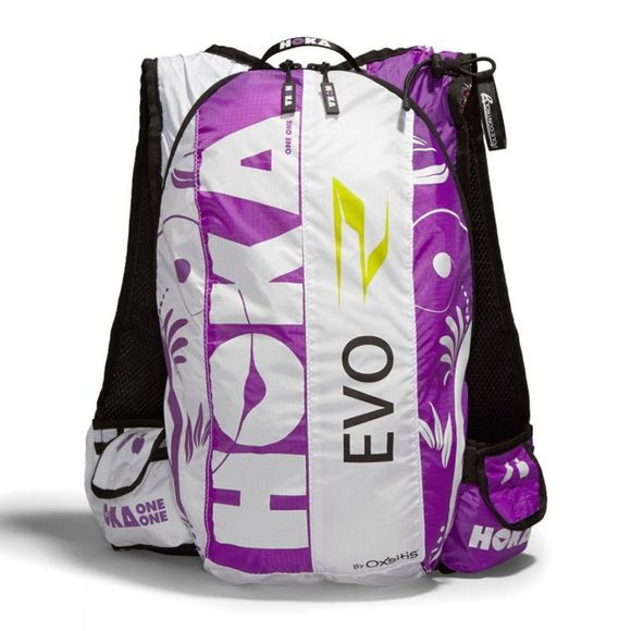 Hoka One One Evo Race 17L Hydration Pack WHITE / PURPLE