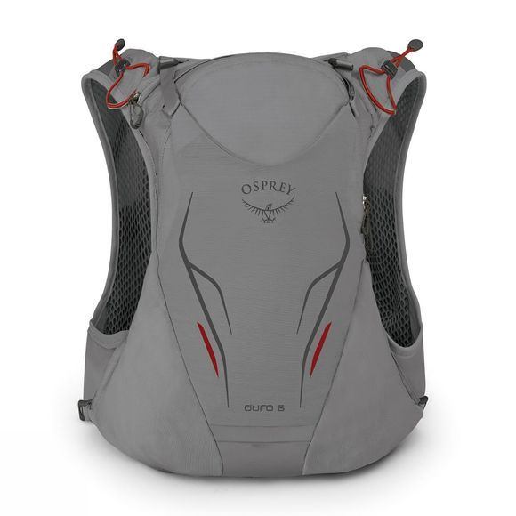 Osprey Duro 6 Run Vest Pack Silver Squall