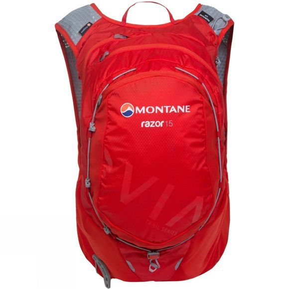 Montane Via Razor 15 Flag Red