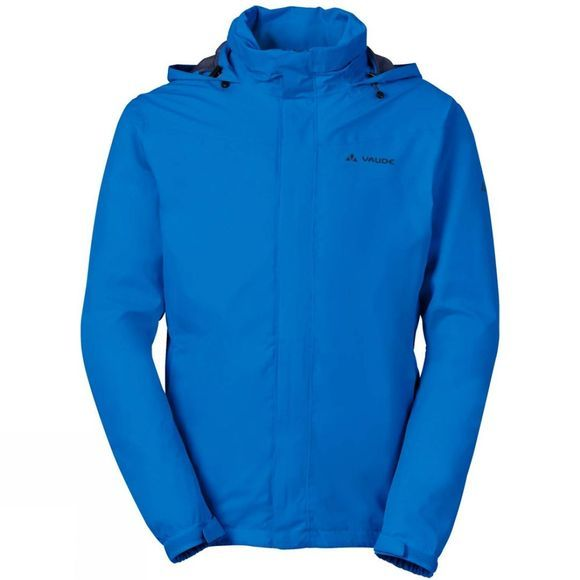 Vaude Mens Escape Bike Light Jacket Radiate Blue