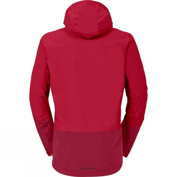 Vaude Mens Yaras Jacket II Indian Red