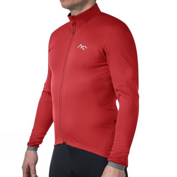 7 Mesh Mens Corsa Softshell Jersey Red