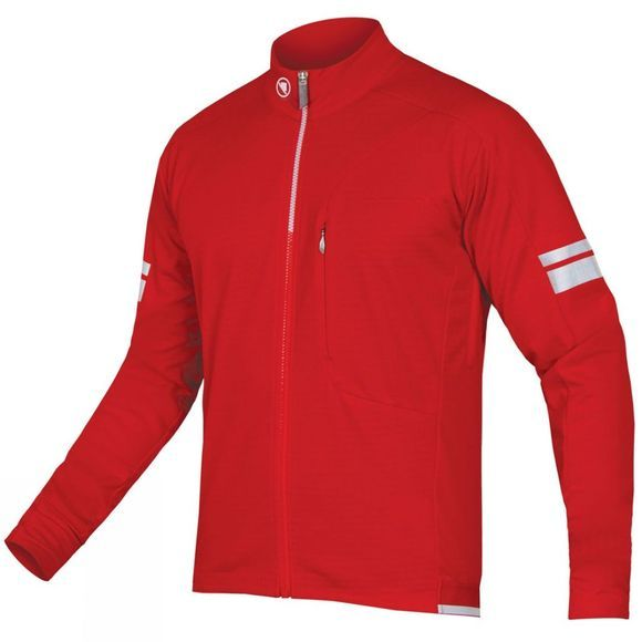 Endura Mens Windchill Jacket Red