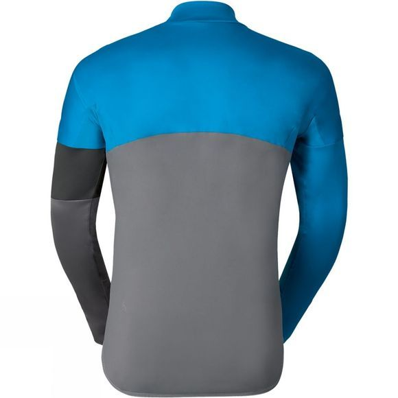 Odlo Mens Mistral Logic Jacket Blue Jewel