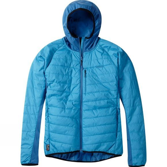 Madison Mens DTE Hybrid Jacket Dark Blue