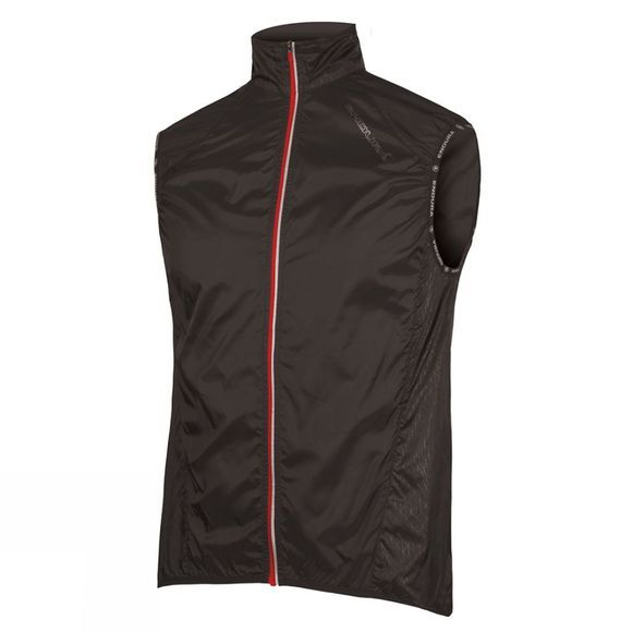 Endura Mens Pakagilet II Jacket Black