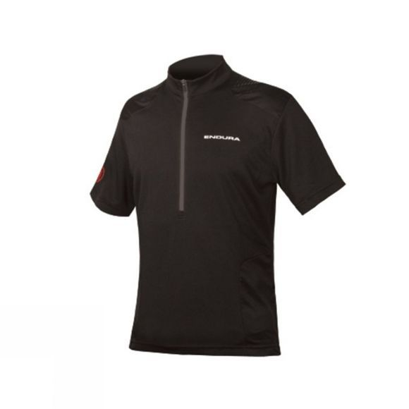 Endura Mens Hummvee Short Sleeve Jersey Black