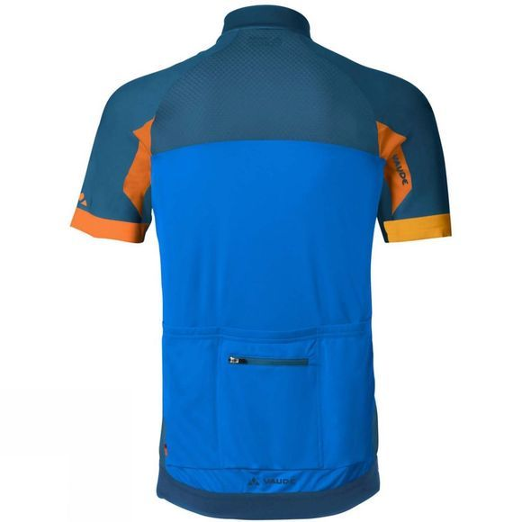 Vaude Mens Pro Tricot II Cycle Jersey Radiate Blue