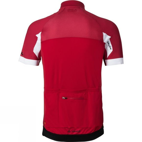 Vaude Mens Pro Tricot II Cycle Jersey Indian Red