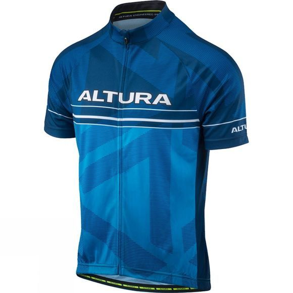 Altura Mens Team Short Sleeve Jersey BLUE