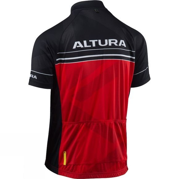 Altura Mens Team Short Sleeve Jersey Red/Black