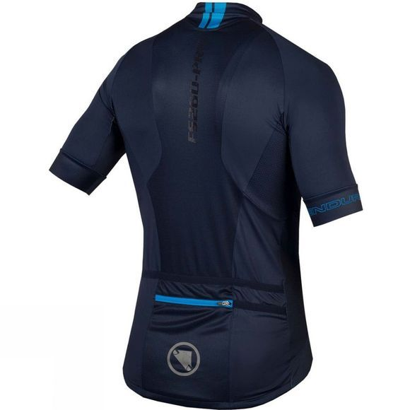 Endura Mens FS260-Pro Short Sleeve Jersey Navy