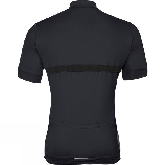 Odlo Odlo Fujin Stand-up Collar Short Sleeve Full Zip Black