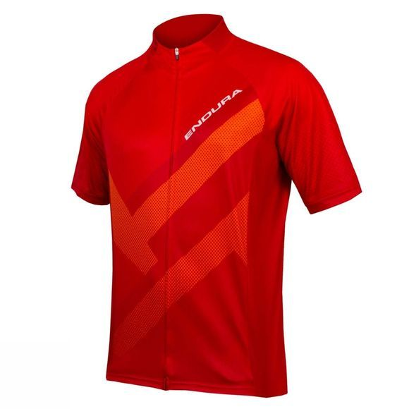 Endura Hummvee Ray Jersey Red