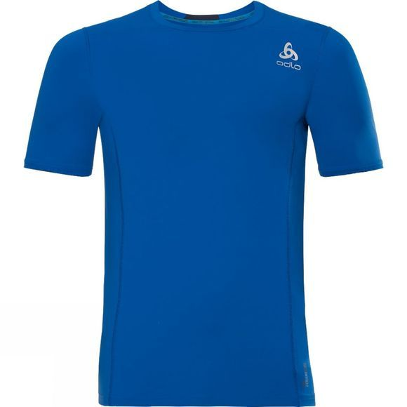 Odlo Mens Ceramicool Pro Baselayer Shirt Energy Blue