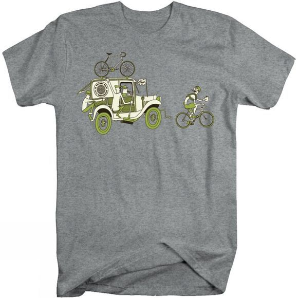 Mens Broom Wagon T-Shirt