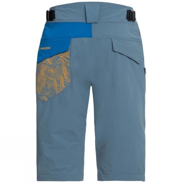 Vaude Mens Moab III Shorts Blue Gray