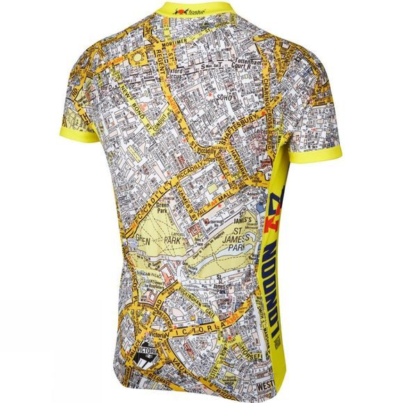 Foska Mens A-Z Cycling Jersey No Colour