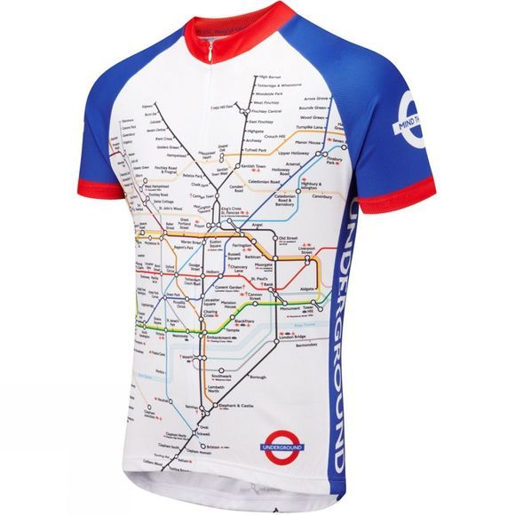 Foska Underground Road Mens Cycling Jersey No Colour