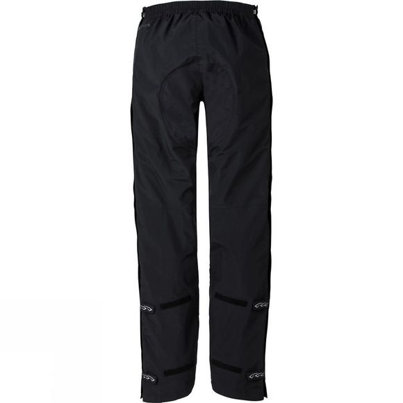 Vaude Mens Yaras Zipped Rain Pants II Black