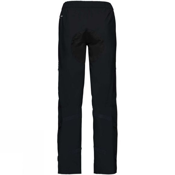 Vaude Mens Moab Rain Pants Black