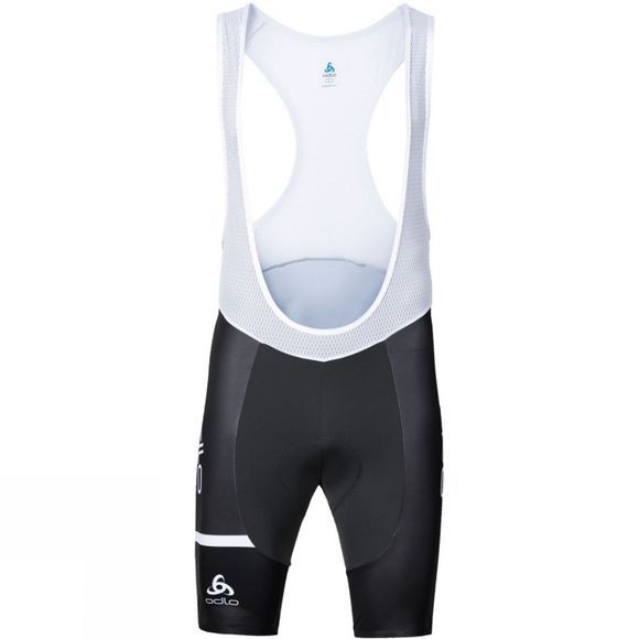 Odlo Odlo Kamikaze Mens Bib Shorts Odlo Graphite Grey - Density - 80