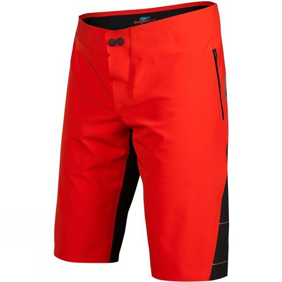 Fox Clothing  Mens Downpour Short Red/Black