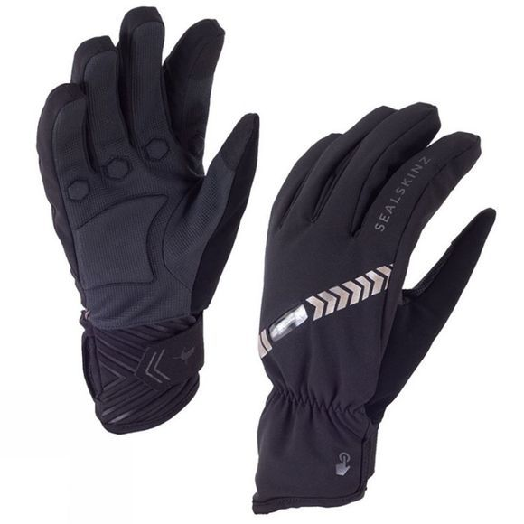 SealSkinz SealSk Halo All Weather Cycle Glove Black