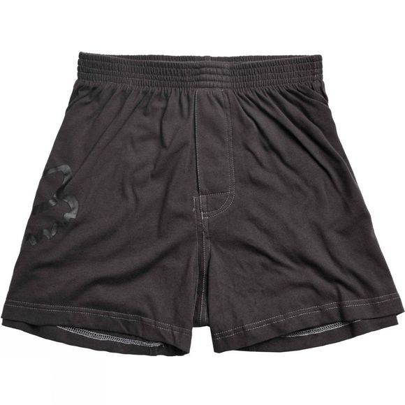 Fox Clothing  Mens Jumped Boxer Black