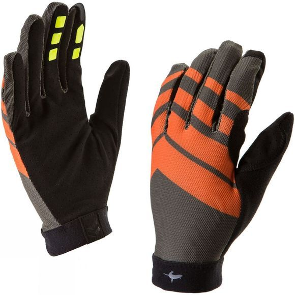 SealSkinz Mens Dragon Eye MTB Ultralite Glove Black/Orange