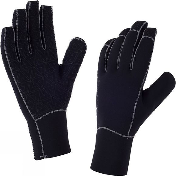 SealSkinz Neoprene Gloves Black/Charcoal