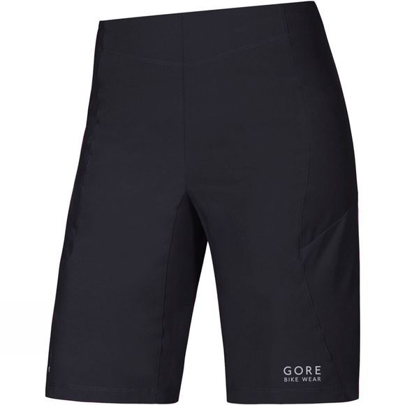 Gore Bikewear Womens POWER TRAIL LADY Shorts Raven Brown/Black
