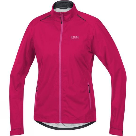 Gore Bikewear Womens Gore Tex Waterproof Jacket Bright Pink/Deep Pink