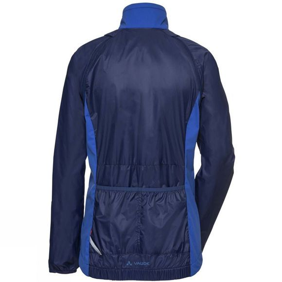 Vaude Womens Windoo Pro ZO Jacket Gentian Blue