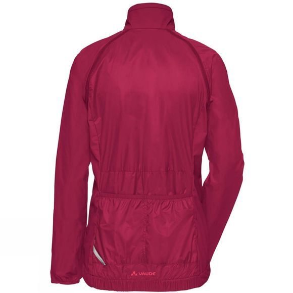 Vaude Womens Windoo Pro ZO Jacket Crimson Red