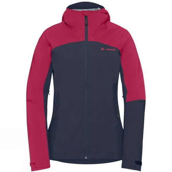 Vaude Womens Moab Rain Jacket Eclipse