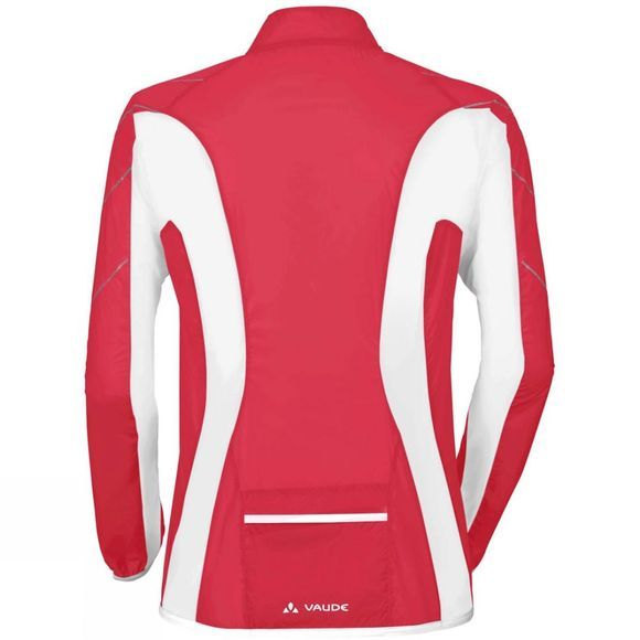 Vaude Womens Pro Windshell LW Strawberry