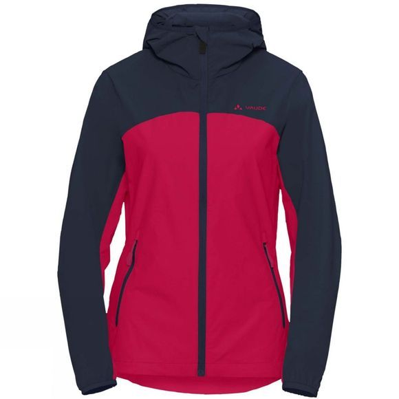 Vaude Womens Moab III Jacket Crimson Red